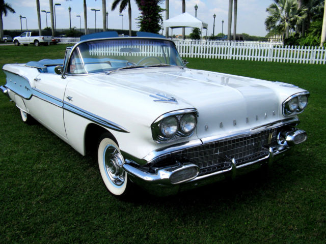 Used Cars West Palm Beach >> 1958 Pontiac Bonneville Chieftain Convertible - Classic Pontiac Bonneville 1958 for sale