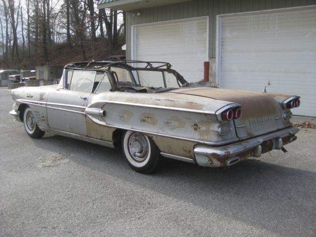 1958 pontiac bonneville convertible classic pontiac bonneville 1958 for sale. Black Bedroom Furniture Sets. Home Design Ideas