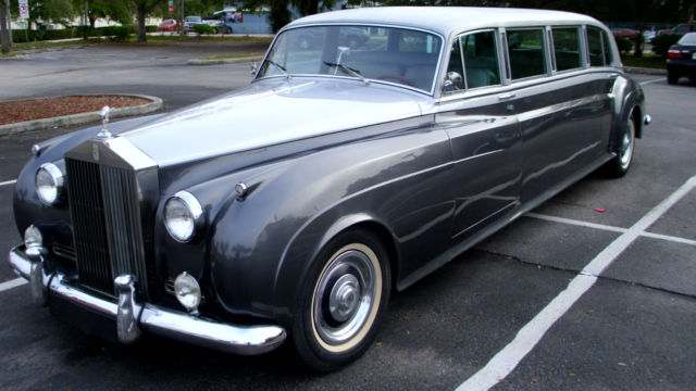 Gm 700r4 Transmission >> 1958 ROLLS ROYCE Cloud 1 Custom Built Stretch Limousine - Classic Rolls-Royce Other 1958 for sale
