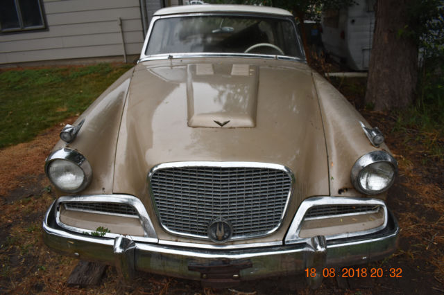 1958 Studebaker Golden Hawk Running Driving Stops And Complete Parts Or Project