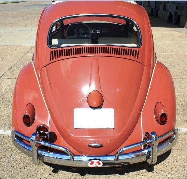 Vw Bug Sunroof Headliner: 1958 Volkswagen Ragtop Beetle