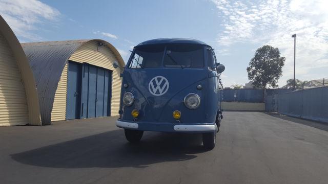 1958 VW Delivery Van w/ walk through barn doors - Classic ...