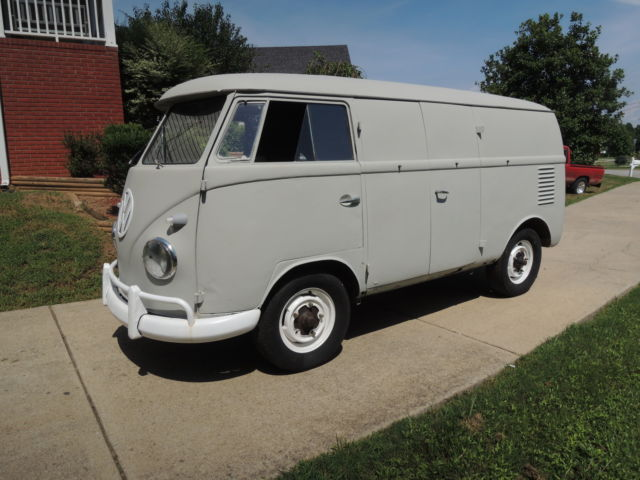 1958 vw double door walk through panel van classic volkswagen bus vanagon 1958 for sale. Black Bedroom Furniture Sets. Home Design Ideas