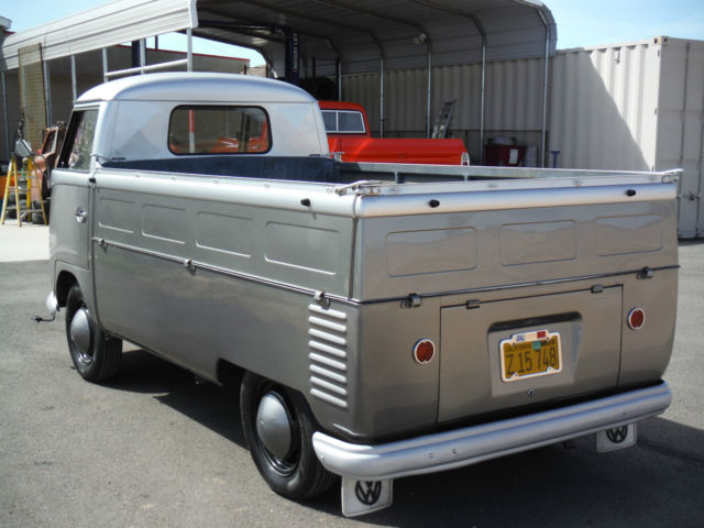 1958 vw transporter single cab california truck rare restored rust free classic. Black Bedroom Furniture Sets. Home Design Ideas