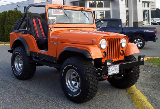 1958 willys cj all steel custom jeep classic jeep cj for Cj custom homes