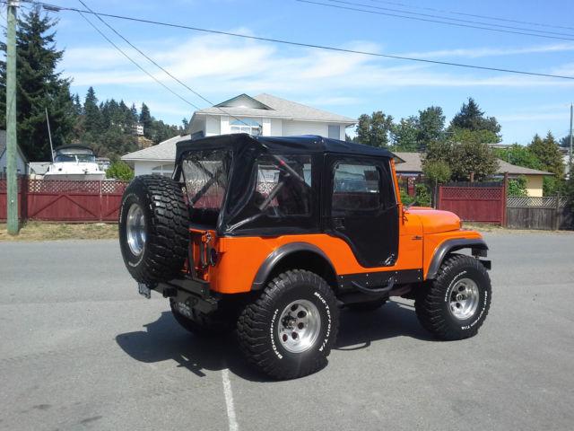 1958 Willys Cj All Steel Custom Jeep