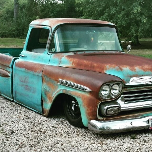 Front Web together with Chevrolet Apache Patina Shop Truck Hot Rod Original Military Lsx Air Ride also E F D A B A D Df Cars And Trucks Chevy Trucks in addition Apache Pic G as well Apache Fleetside Ls Bagged Patina. on 1959 chevrolet apache pickup truck