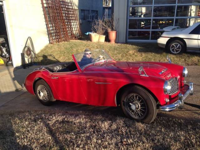 1959 austin healey 100 6 classic roadster with overdrive. Black Bedroom Furniture Sets. Home Design Ideas