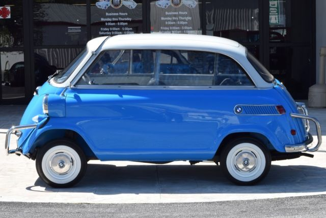 1959 Bmw Limo Isetta 600 In Bavarian Blue Classic Bmw