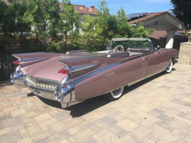 1959 Caddy Convertible 120000 Miles V8 RWD Automatic