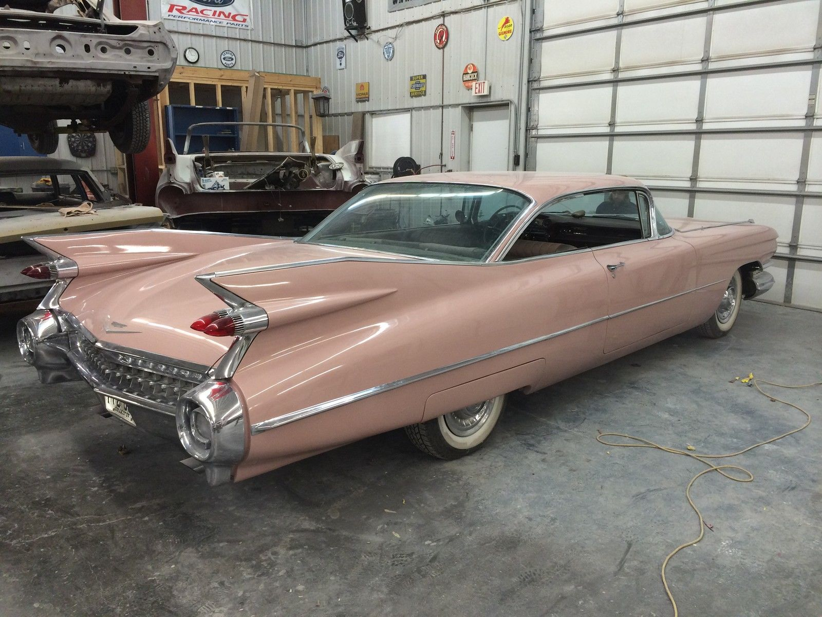 1959 cadillac coupe deville rosewood with matching. Black Bedroom Furniture Sets. Home Design Ideas