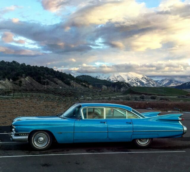 1959 CADILLAC MECHANICALLY SOUND AND READY FOR THE ROAD