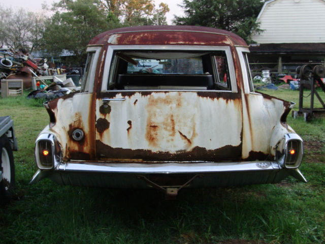 1959 Cadillac Miller Meteor Hearse Ambulance Ecto1