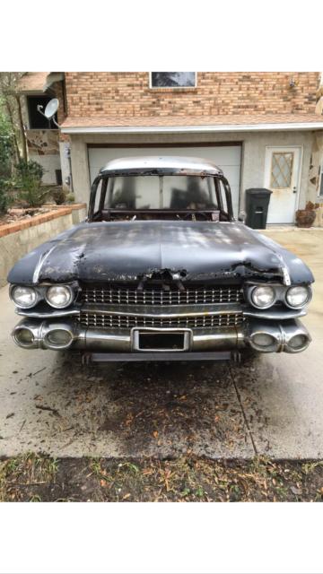 1959 Cadillac Miller meteor hearse ambulance ecto1 ...