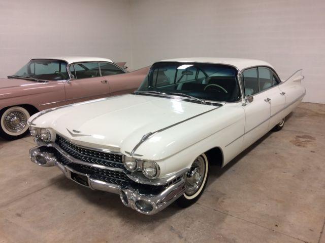 Cadillac Sedan Deville Miles Barn Find Loaded
