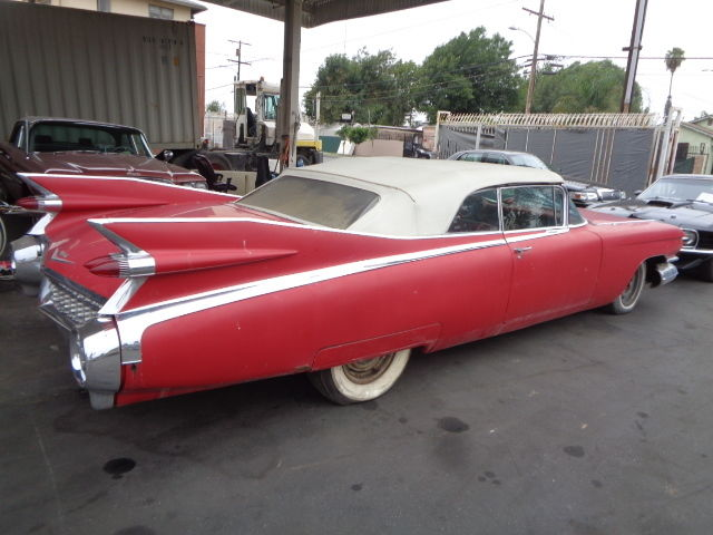 1959 Cadillac Series 62 Convertible Equiped With The RARE
