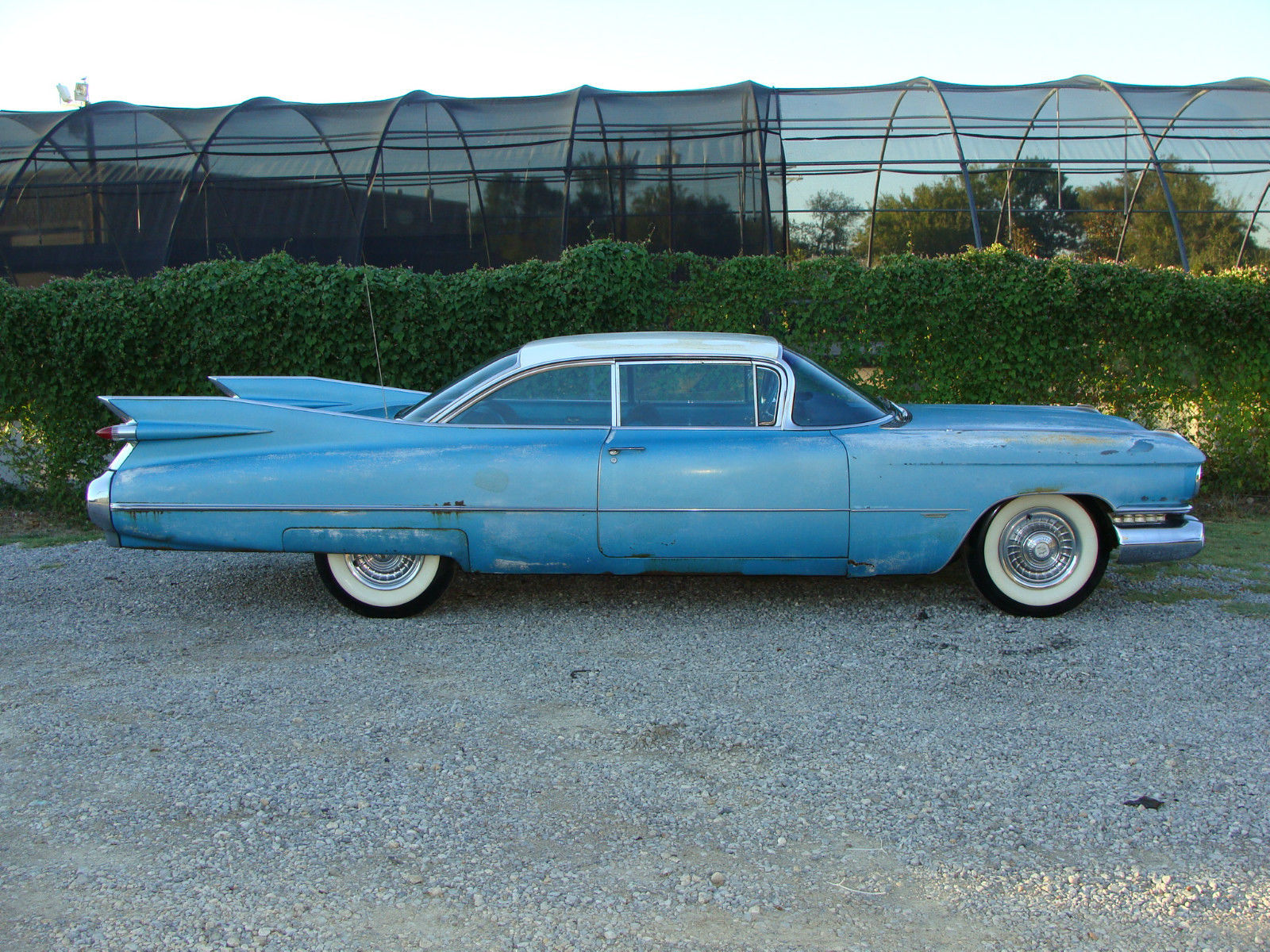 1959 CADILLAC SERIES 62 COUPE. FACTORY A/C .RUNS, SOLID ...