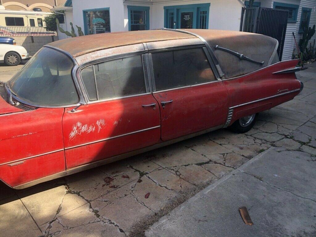 1959 Cadillac Superior Hearse - Classic Cadillac Superior ...
