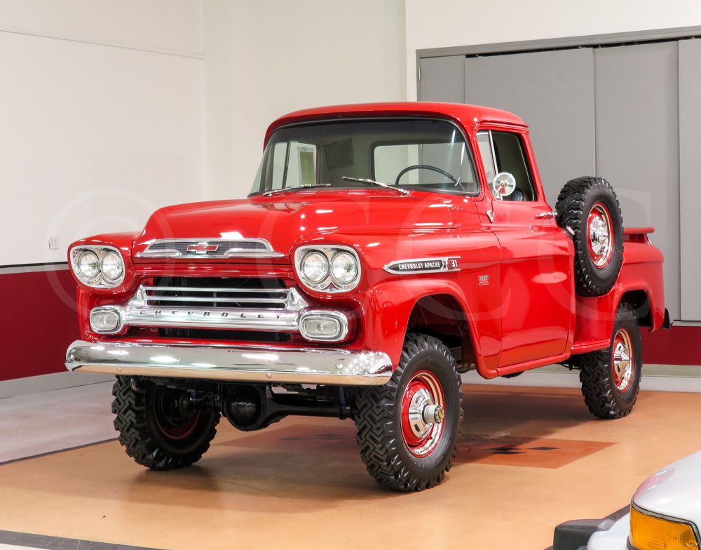 Chevy Napco For Sale >> 1959 Chevrolet 3100 Apache Deluxe Step-Side NAPCO Pickup Truck - FULLY RESTORED - Classic ...