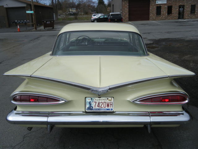 1959 Chevrolet Bel Air Rare Color Combo Also 1960 Cadillac Persian