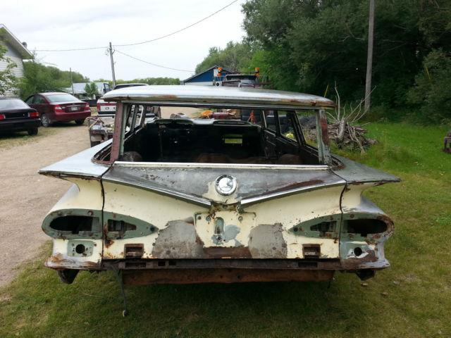 1959 Chevrolet Brookwood 2 Door Station Wagon Impala Nomad
