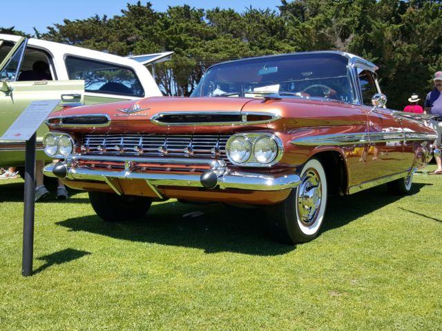 1959 CHEVROLET EL CAMINO SHOW CAR, BUILT IN OAKLAND CA