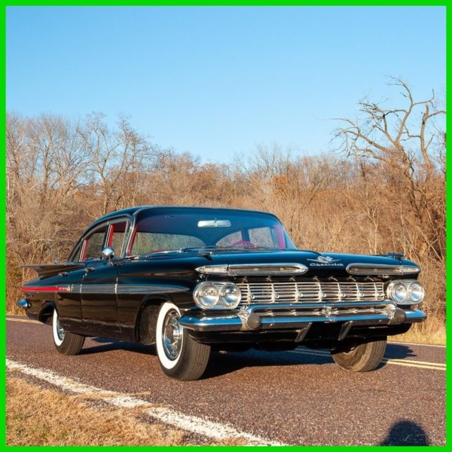 1959 chevrolet impala 348 four door sedan classic chevrolet impala 1959 for sale. Black Bedroom Furniture Sets. Home Design Ideas