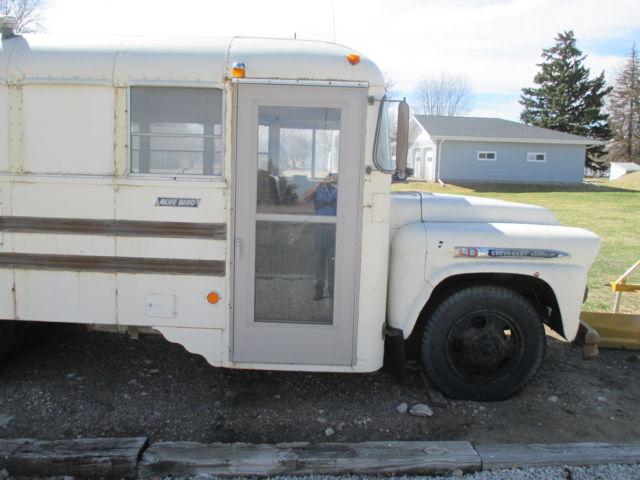 1959 Chevrolet short bus, school bus, rat rod, tail gate ...
