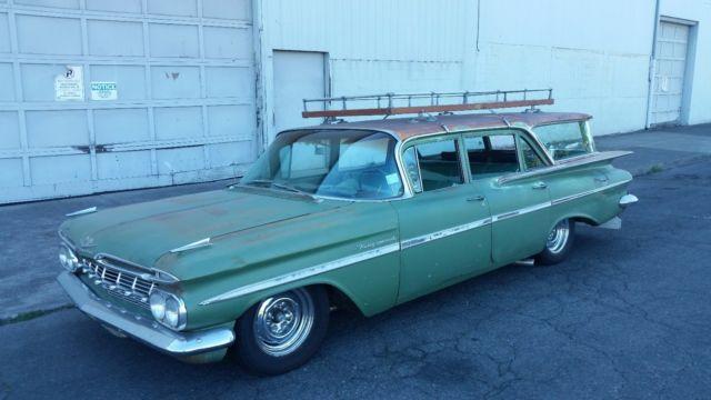 Chevrolet Station Wagon Kingswood Passenger Ls L Original Paint Chevy