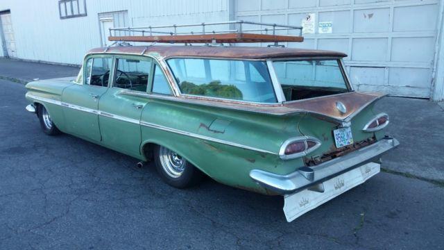 1959 chevrolet station wagon kingswood 9 passenger ls 5 3l. Black Bedroom Furniture Sets. Home Design Ideas