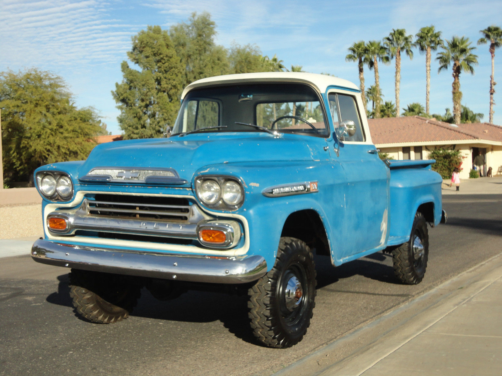 1959 chevy 1 2 ton shortbed napco 4x4 classic chevrolet other pickups 1959 for sale. Black Bedroom Furniture Sets. Home Design Ideas