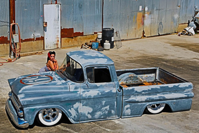 ... patina hotrod airbags - Classic Chevrolet Other Pickups 1959 for sale
