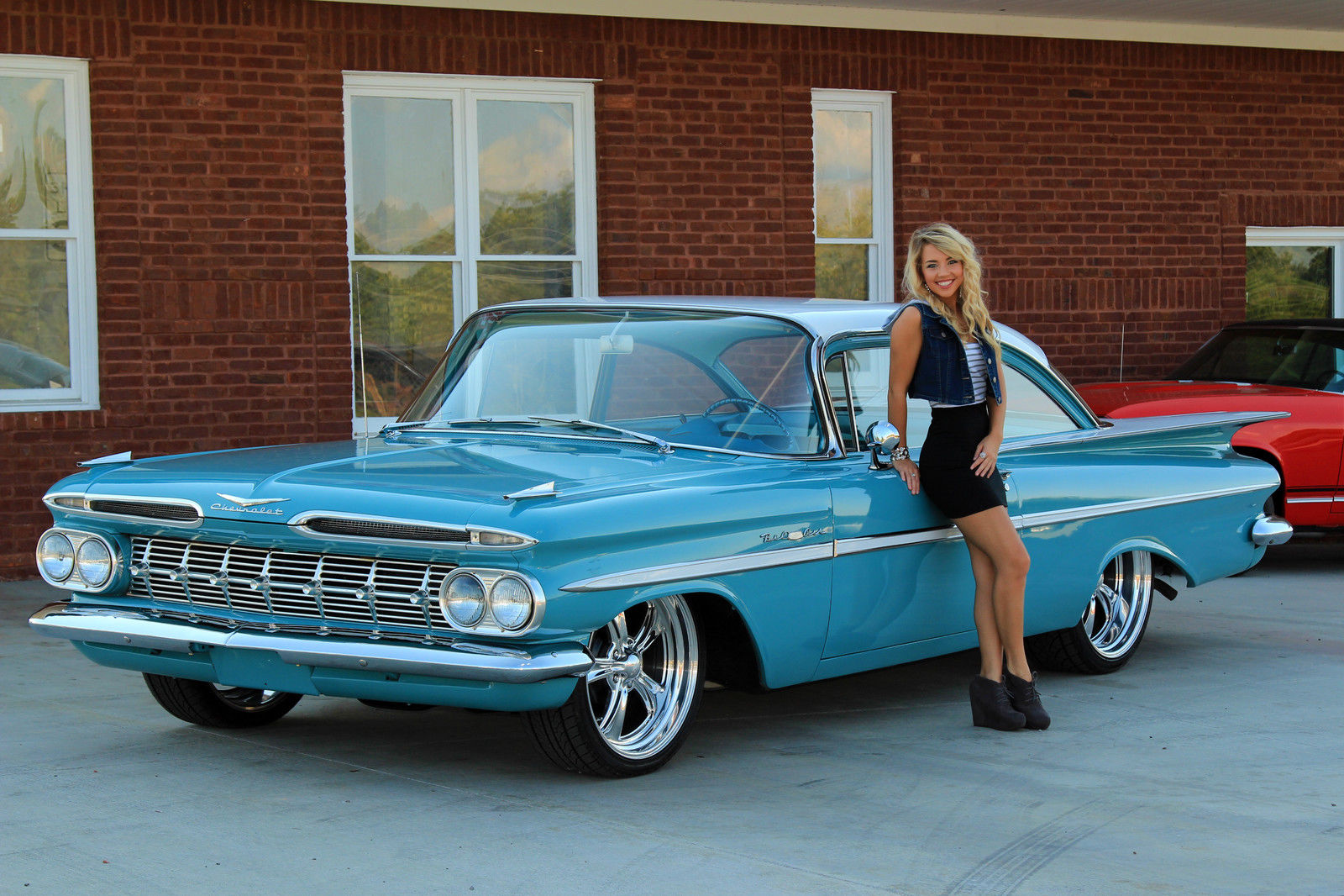 1959 chevy bel air v8 automatic power steering power. Black Bedroom Furniture Sets. Home Design Ideas