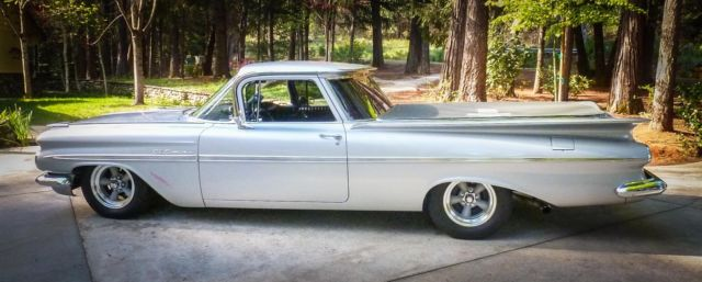 1959 Chevy El Camino Ca Frame Off Restoration Classic Chevrolet El Camino 1959 For Sale