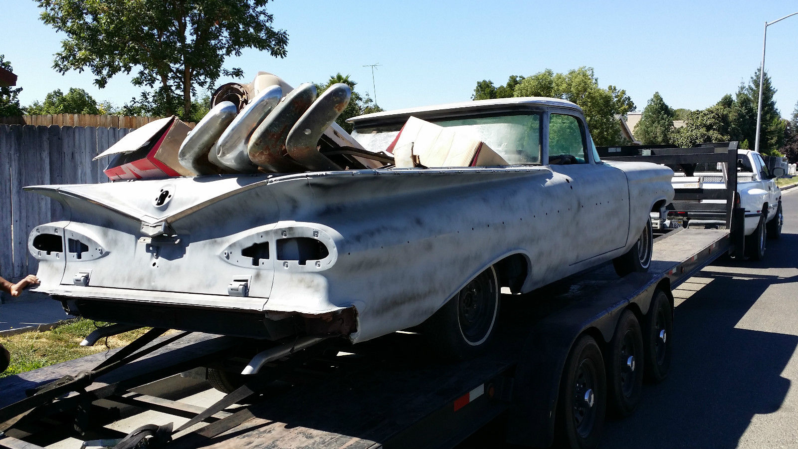 1959 chevy El Camino project - Classic Chevrolet Other 1959
