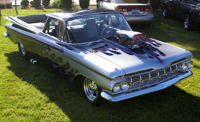 1959 el camino pro street show car classic chevrolet. Black Bedroom Furniture Sets. Home Design Ideas