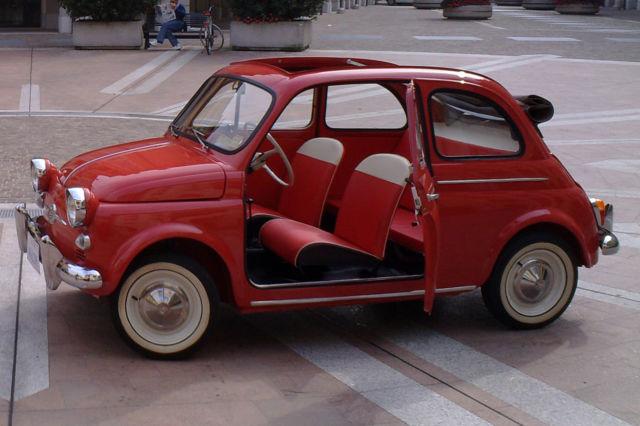 1959 Fiat 500 N U S A Version Great Very Rare Classic