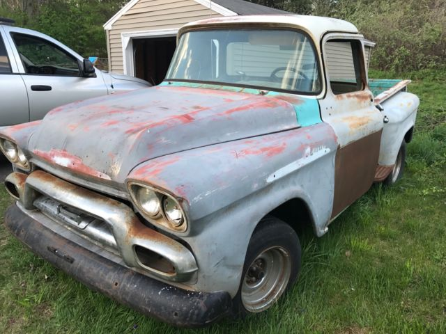 1959 gmc 100 truck big window stepside classic gmc other 1959 for sale. Black Bedroom Furniture Sets. Home Design Ideas