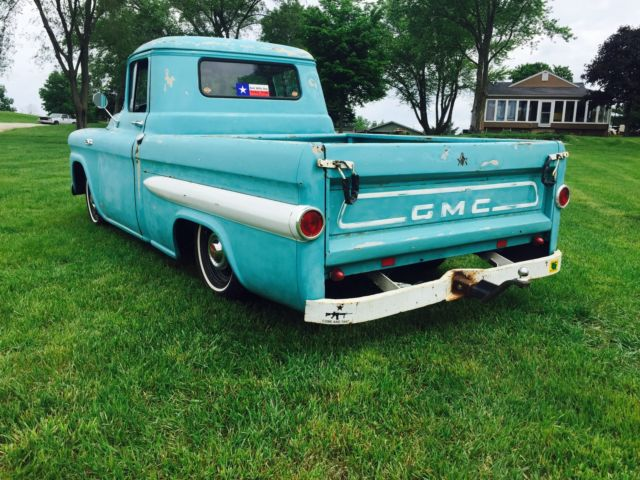 1959 Gmc Rare Apache Fleetside Truck Gmc Pickup Ratrod