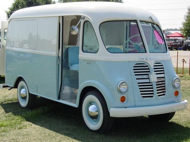 1959 International Metro Ice Cream Step Van Complete