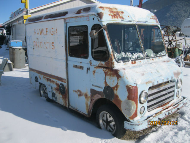 1959 International Metro Mite Shorty Step Van Custom Hot ...