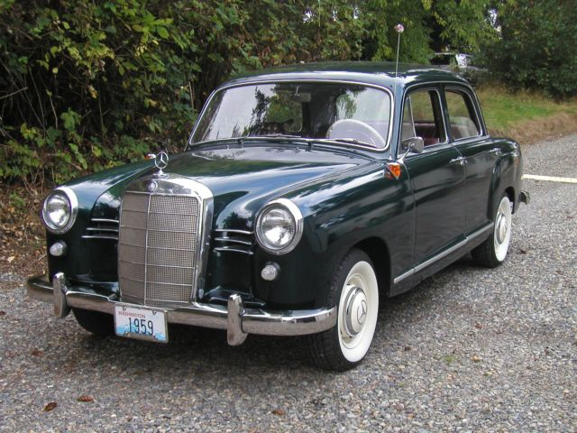 1959 mercedes benz 190 classic mercedes benz 190 series for Mercedes benz 190 for sale