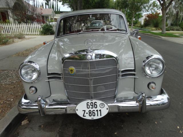 1959 mercedes benz 190 diesel german model salon 4 door for Mercedes benz diesel models