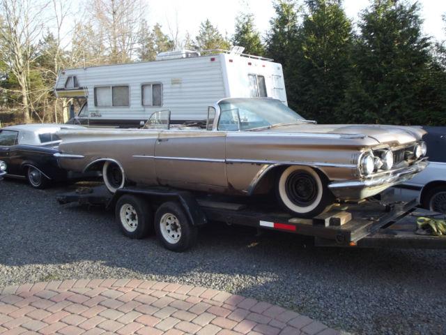 1959 Oldsmobile 98 Convertible Barn Find Rare Same Body 1959