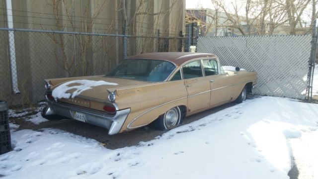 1959 Pontiac Catalina Project Or Parts Rust Blown