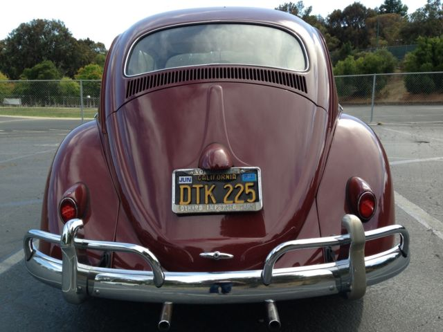 1959 Red VW Bug For Sale - Original Owner - Classic Volkswagen Beetle - Classic 1959 for sale