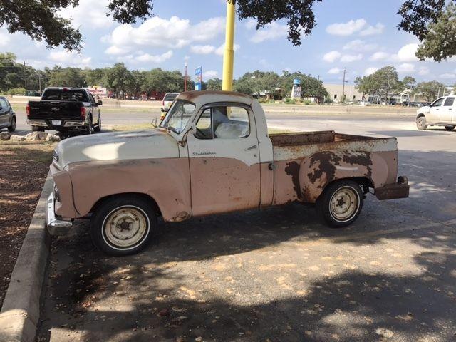 1959 Studebaker 4E7 Barn Find Truck Pickup Original E Series