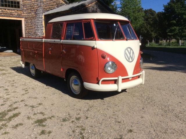 1959 Volkswagen Crew Cab Transporter Pickup 2miles Since