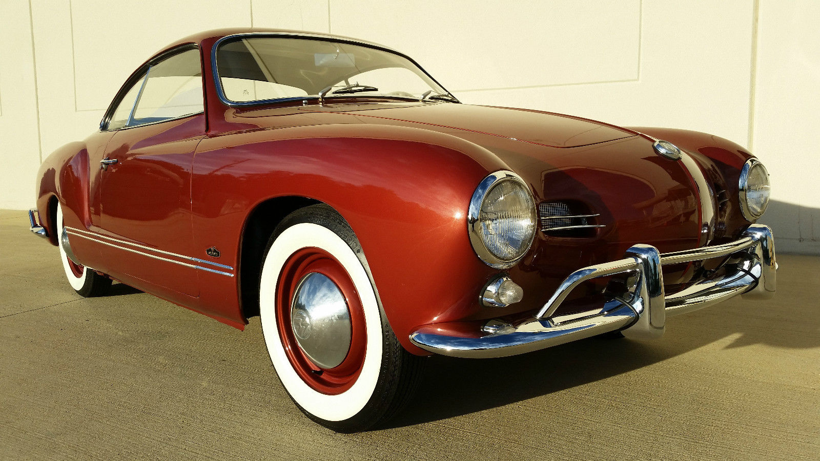 1959 VW KARMANN GHIA LOW LIGHT COUPE - VW BIRTH CERT ...