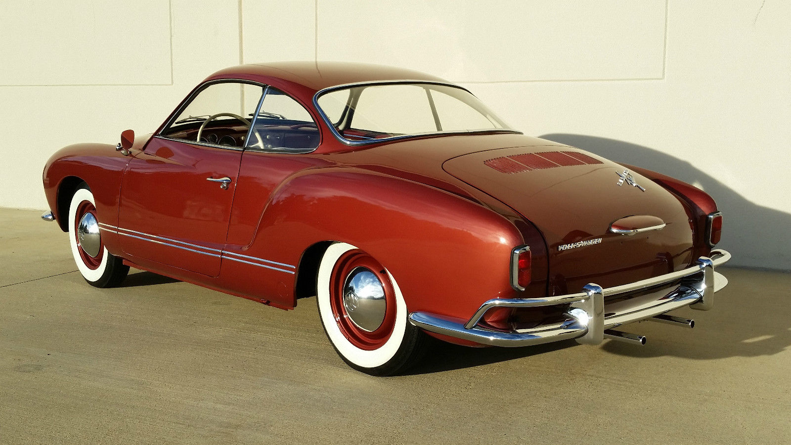 1959 VW KARMANN GHIA LOW LIGHT COUPE - VW BIRTH CERT ...